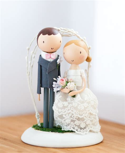 wedding cake topper wooden cake topper rustic wedding cake