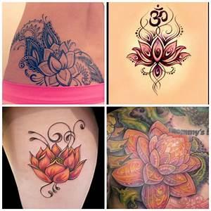 Fleur Lotus Tatouage : photos de tatouage fleur de lotus mon tatouage ~ Mglfilm.com Idées de Décoration