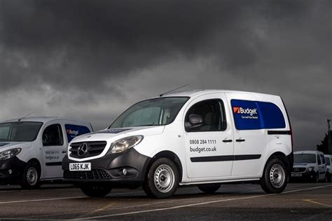 Budget Takes On 100 Citan Vans