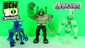 BEN 10 OMNIVERSE GALACTIC MONSTERS TOYS EPISODE ...