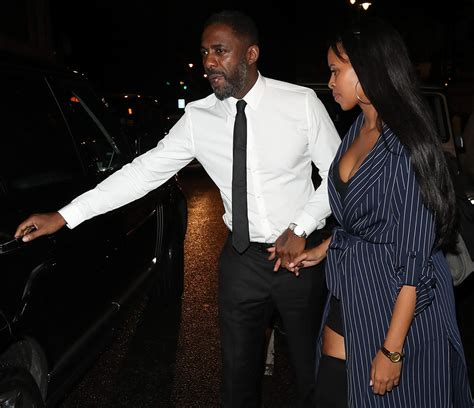 Getting serious? Idris Elba and Somali girlfriend step out ...
