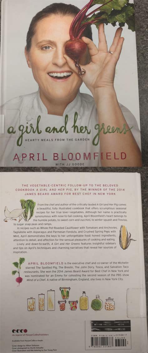 girl   greens  april bloomfield