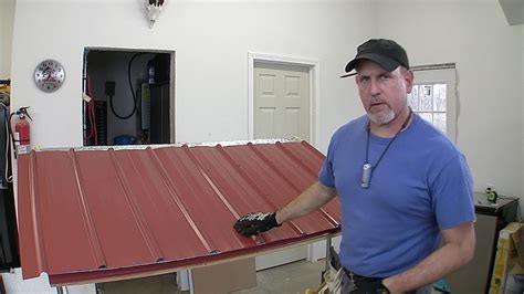 Pole Barn Roofing by How To Build A Pole Barn Pt 7 Metal Roofing
