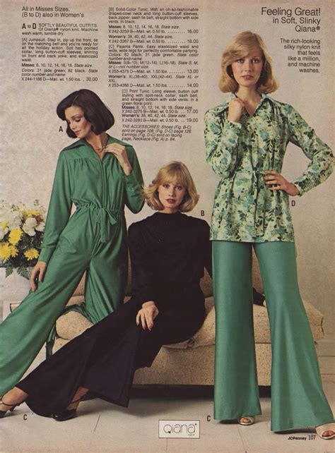 1970s Fashion For Women And Girls 70s Fashion Trends