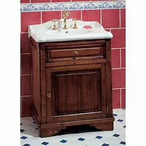 Meuble 70 Cm De Large : meuble de salle de bains celine 70 cm pour vasque poser herbeau ~ Teatrodelosmanantiales.com Idées de Décoration