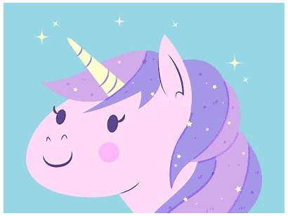 Unicorn Dribbble Kawaii Living Animation Witch Episode