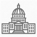 Building Capitol Icon Dc Government Legislative Congress
