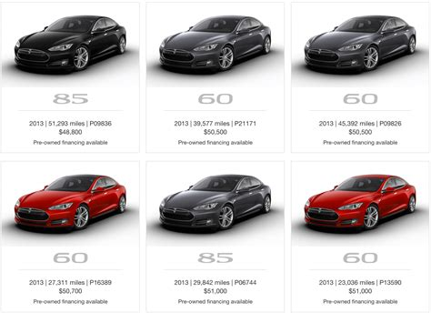 20+ All Types Of Tesla Cars PNG