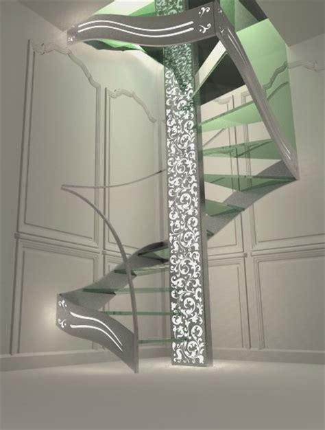 petits meubles de cuisine escalier design quart tournant renaissance