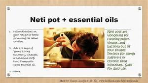 Neti Pot Diagram