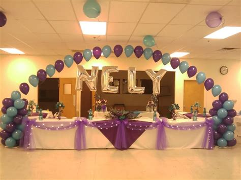 Salon Decorating Ideas For Quinceaneras by Quinceanera Ideas Quinceanera Decorations Design Decor