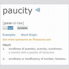 Paucity  Driverlayer Search Engine