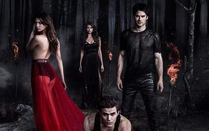 Vampire Diaries Wallpapers Damon Elena Desktop Tv