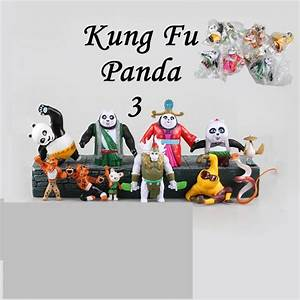Kung Fu Figuren : online cheap kung fu panda 3 action figures doll po 11 styles cartoon anime dolls kids toys ~ Sanjose-hotels-ca.com Haus und Dekorationen