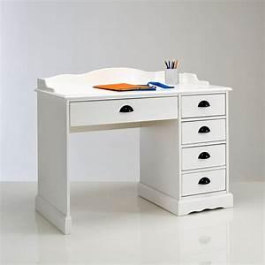 Bureau Enfant Blanc : bureau blanc authentic style blanc la redoute interieurs la redoute ~ Teatrodelosmanantiales.com Idées de Décoration