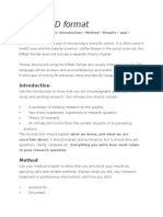 sample thesis  imrad format restoration ecology survey methodology