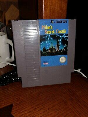 MILON'S SECRET CASTLE --- NES Nintendo Original Game CLEAN ...