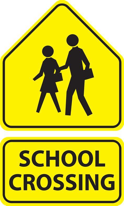 clipart school crossing signs