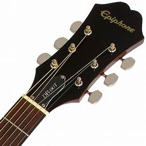 Epiphone DR-90T Steel String Acoustic Guitar Player Pack ...