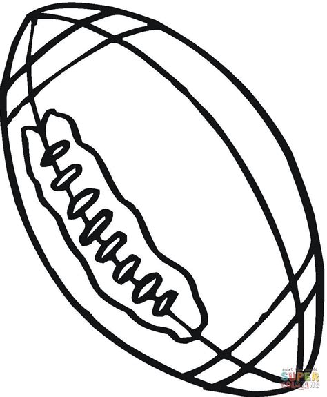 Coloring Balls by Rugby Coloring Page Free Printable Coloring Pages