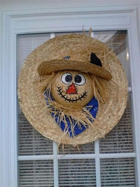ideas  scarecrow crafts  pinterest fall