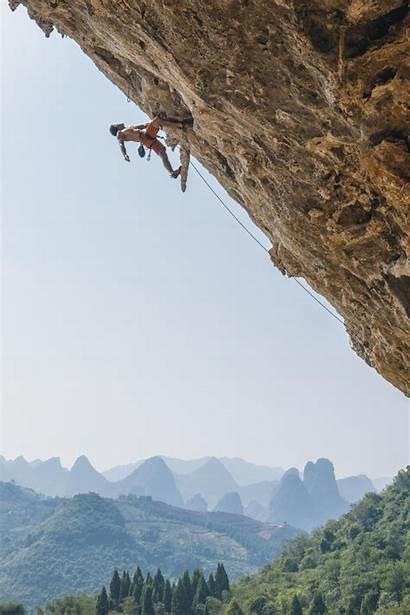 Climbing Yangshuo Rock China Guilin Asia Discovery