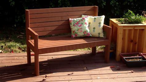 simple garden bench   xs  xs