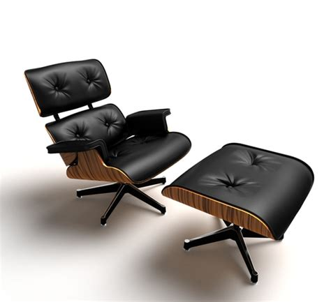 eames lounge chair 3d cad model grabcad
