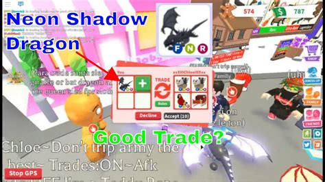 The frost dragon draws similarities to shadow dragon, and can perform the following tricks, including sit, lay down, joy, jump, dive. Neon Shadow Dragon Roblox Adopt Me Read Desc Youtube