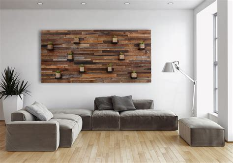 wall design ideas creative ideas for your own reclaimed wood wall