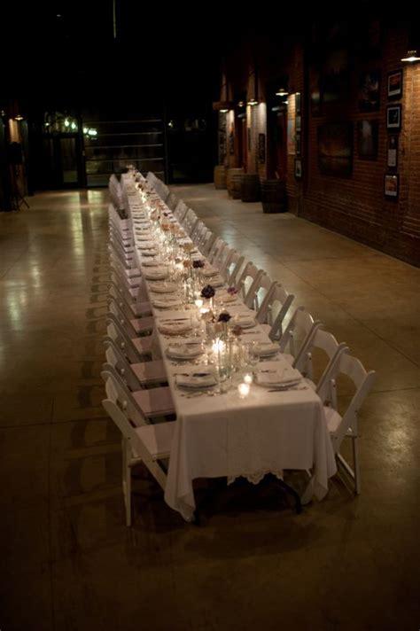 long reception table weddingbee photo gallery