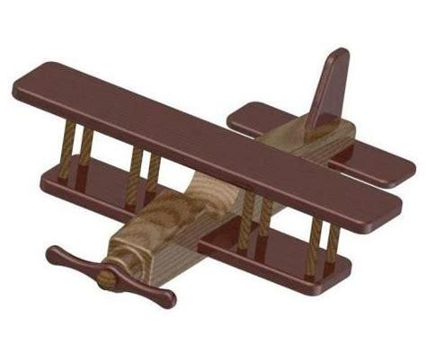 woodworking plan biplane kids toy plan