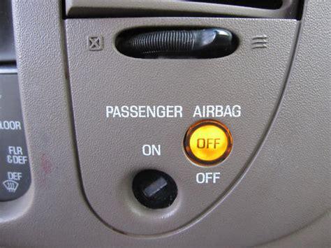 passenger airbag light on ford f 150 airbag light repair fix passenger switch