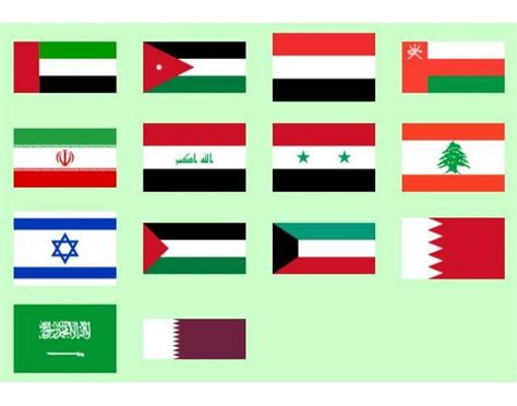 flags of the middle east purposegames