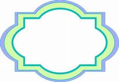Label Decorative Clip Clipart Vector Clker Domain