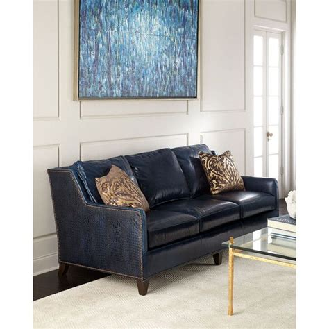 Navy Blue Leather Sofa And Loveseat by Best 25 Navy Blue Leather Sofa Ideas On Blue