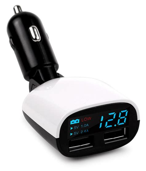 TOTU Car Mobile Charger Dual USB Car Charger 3.4 AMP Black: Buy TOTU Car Mobile Charger Dual USB ...