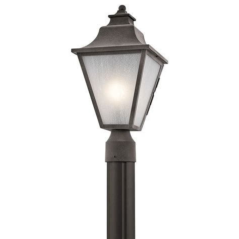 kichler 49705wzc northview weathered zinc outdoor l