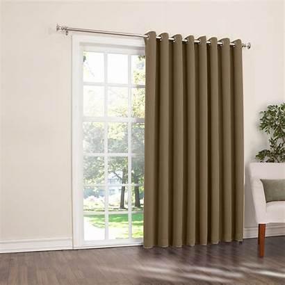 Patio Door Curtain Window Grommet Blackout Panels