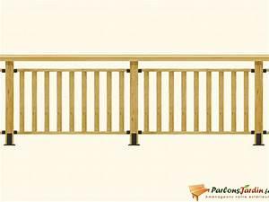 Main Courante En Bois : main courante et lisse en bois pour balustrade ~ Nature-et-papiers.com Idées de Décoration