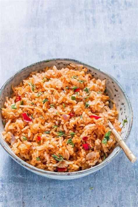 jollof rice vegan gluten free includes instant pot