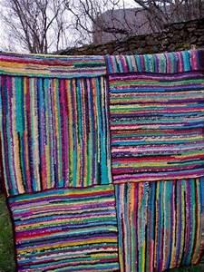 Tapis En Plastique : tapis en sac de plastique recycl fais au crochet kids pinterest sacs crochet et tapis de sol ~ Teatrodelosmanantiales.com Idées de Décoration