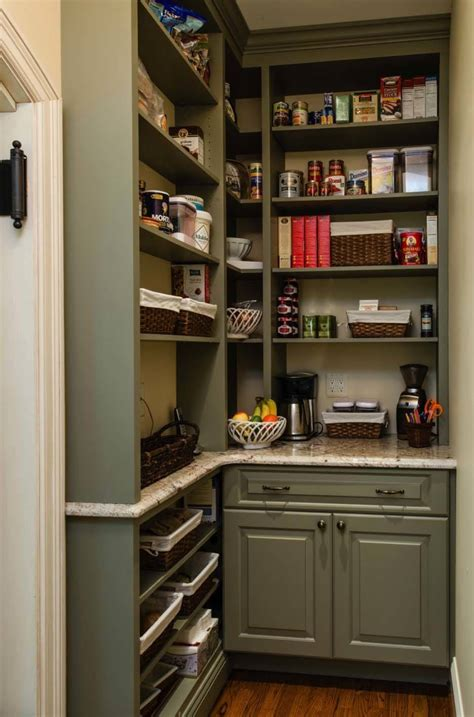 glass door cabinet 35 clever ideas to help organize your kitchen pantry