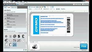 how to build your own label template in dymo label With dymo address label template