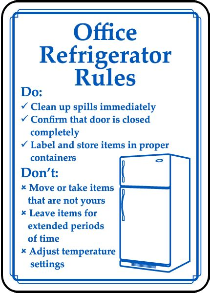 clean   refrigerator day safety sign news