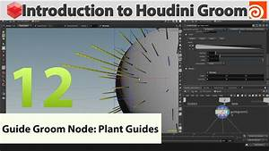12 - Introduction To Houdini Groom