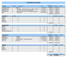 Templates Excel Budget Template Excel Madinbelgrade