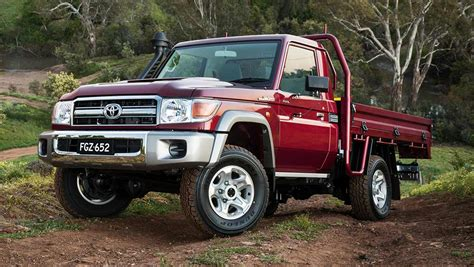 It also offers seating for up to eight passengers; Toyota LandCruiser 70 Series single cab 2016 review ...