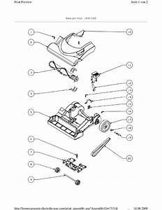 Electrolux Z4715az  90025252500  Vacuum Cleaner Bottom And Functional Parts Spare Parts Diagram