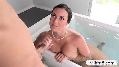 Big Tits Stepmom Threesome